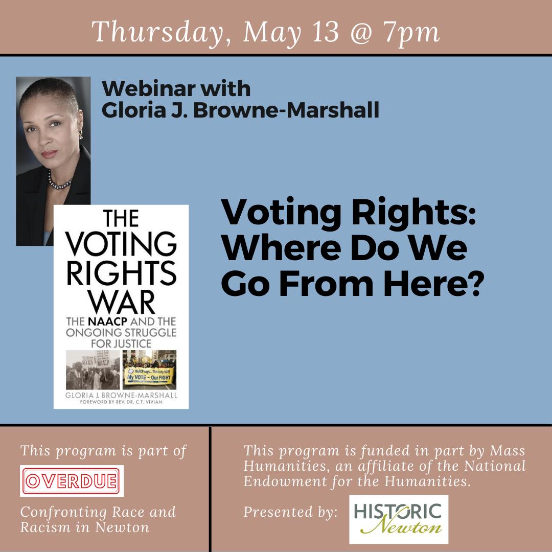 2021-05-13 Gloria J. Browne-Marshall Overdue page no reg link